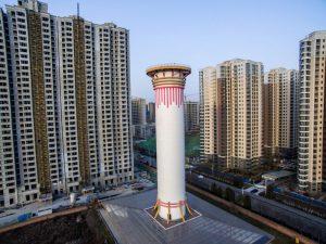 Pollution : en Chine, une tour de 100 mètres pour épurer l'air