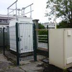 Cabine de la station de Brest Macé