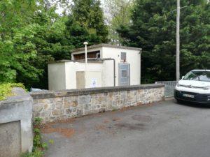Poste de relevage de Sainte Croix à Guingamp